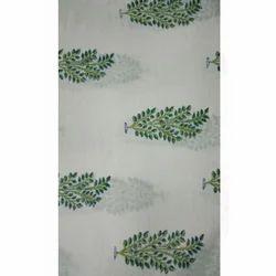 Floral Print Dress Material