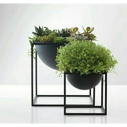 Artificial Iron Flower Pot