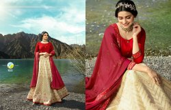 Vinay Kaseesh Handloom 10331-10338 Series Silk Anarkali Dresses Eid Collection