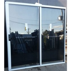 Aluminium Sliding Door, For Residential, Exterior