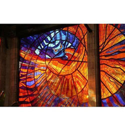 Multicolor LG TUFF Stained Glass