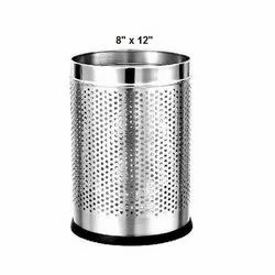 8 X 12 Inch Stainless Steel Dustbin