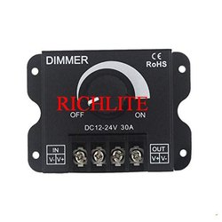 Cool White LED Dimmer 30a, For Outdoor Light, Dc