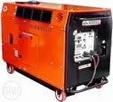 Single Layer Canopy 9000 Va Portable Silent Or Soundproof Diesel Generator