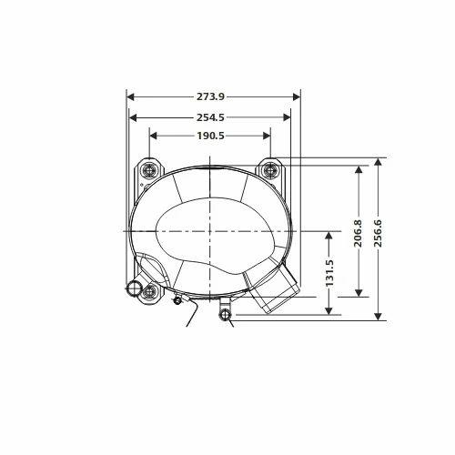 Emerson CR42K6ME -PFZ 3 Phase Copeland CRK6 & KQ Compressor