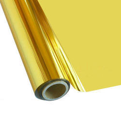 Gold Coloured Metallic Laminated Non Woven Fabric