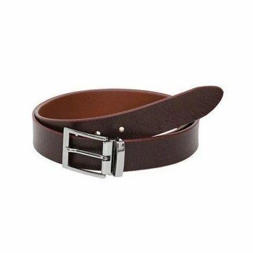 Casual Wear Brown Mens Designer Leather Belt