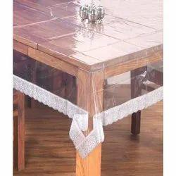 Rectangular Plain Clear PVC Table Cloth