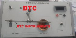 Thermocouple Experiment - Thermo Emf with Temperature By (Cu-Constant Method)