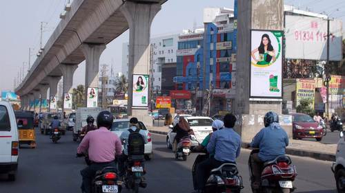 Flex Metro Pillars Advertising, in Pan India