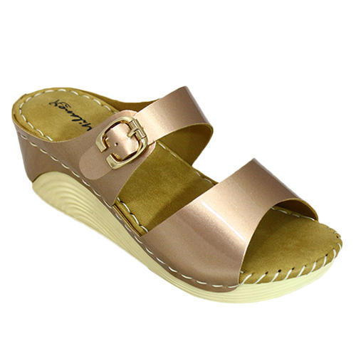 Milano Women Double Strap Wedges Sandals