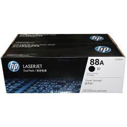 HP 88A Dual Pack Black Toner Cartridge (CC388AD)