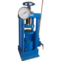 Compression Testing Machine - Hand Operated Channel/Pillar type