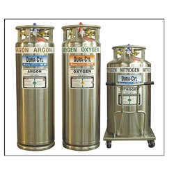 Low Pressure Dura Cylinders for Liquid Nitrogen