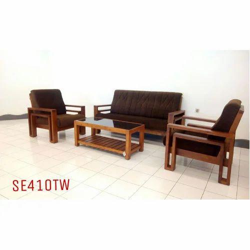 Hall Wooden Sofa Set