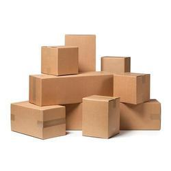 Brown Rectangular And Square Biodegradable Corrugated Packaging Box
