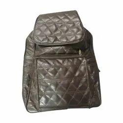 Girls Brown College Bag