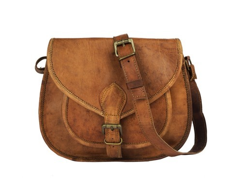 6e61fe108b456 Ten, Brown Livewithleather Brown Genuine Leather Sling Bag For Girls ...