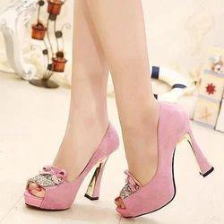 074064caa2e Light Pink High Heel Sandal