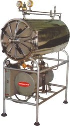 Harrisons Stainless Steel Horizontal Autoclave, Warranty: 1 Year