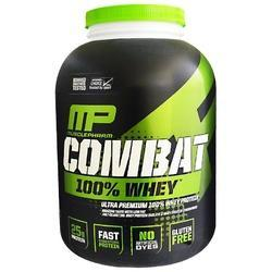 MusclePharm Combat 2.27 kg Vanilla Flavored Whey Protein