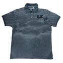 Mens Yarn Dyed Polo T Shirt