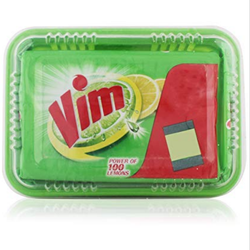 Vim Dishwash Bar -Lemon, 250g Box