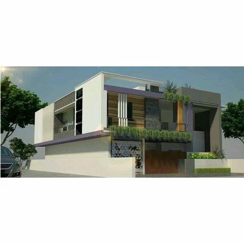 2d elevation design service - 2d House Elevation Designs In