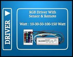 50 watt RGB Driver With Remote & Sensor (IP65)