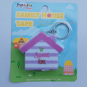 Measuring Tape House Keychain