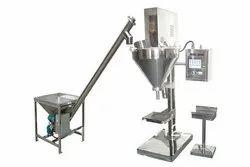 Semi Automatic Screw Powder Feeder Machine