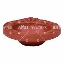 Clay Designer Diya