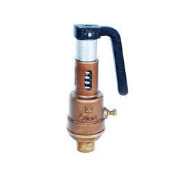 Open Discharge Bronze Spring Loaded Safety Valve
