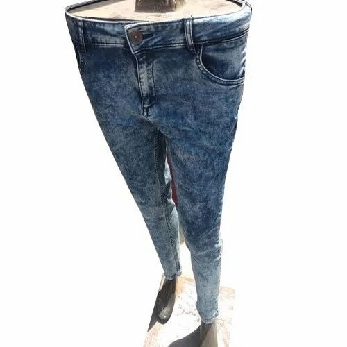 Warthog Casual Wear Ladies Stretchable Denim Jeans, Waist Size: 26-36