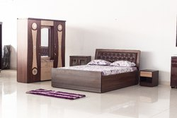 WOOD BOURNE MALAYSIAN WOOD BED ROOM SET, Size: Queen, Warranty: 5 YEARS