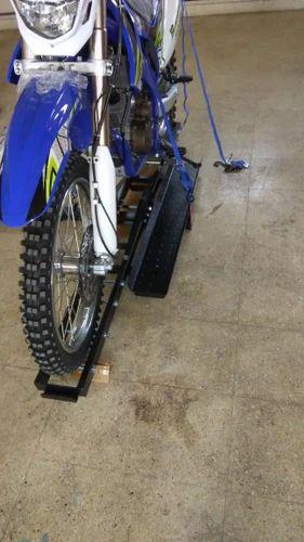 Blue Dirt Bike 250cc Scrambler Off Road Power Sport India