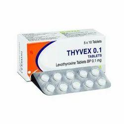 0.1 Mg Levothyroxine Tablets BP