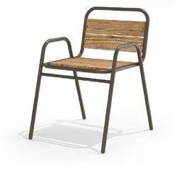 Wooden & Iron Chair