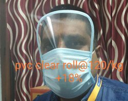 PVC Transparent Sheet for Face Mask