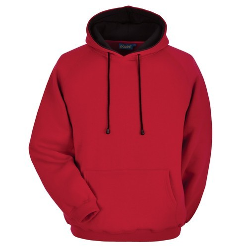 10023371a6 Cotton Red Hoodie, Rs 400 /piece, Libey Custom Tees | ID: 15115922955