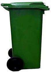 Nilkamal 120 Liters Plastic Wheel Dustbins