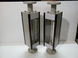 Glass Tube Rotameter Flange End