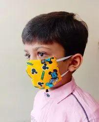 ARROWN Reusable 3 Layers Cotton Kids Face Mask Reversible