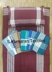 Hospital Bedsheet For Covid Wards With Pillow Cover