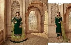 Designer Embroidered Party Wear & Festive Look Designer Heavy Lehenga With Pant Style Suit