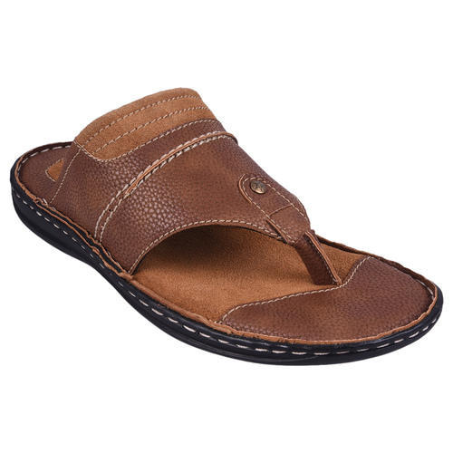 c907352a17e4 Men E-lyte Leather Flat Chappal