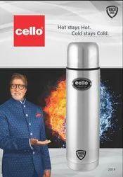 CELLO VACU STEEL FLASKS