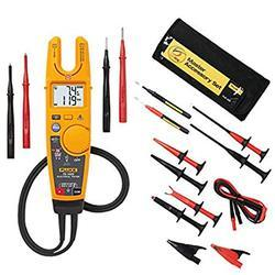 Fluke T6-1000 Electrical Tester Key features Be safer: Measure Voltage to 1000 V AC