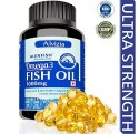 Fish Oil Omega 3 Fatty Acid Salmon Nutraceutical Capsules Third Party Manufacturing