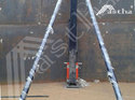 Hydraulic Telescopic Pressure Jack For Erecting Grain Storage Silos